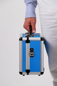 Opberg koffer